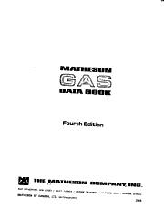 Matheson Gas Data Book PDF