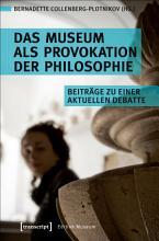 Das Museum als Provokation der Philosophie PDF