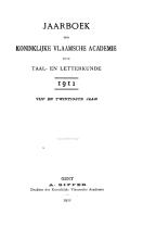 Jaarboek van de Koninklijke Vlaamse Academie voor Taal  en Letterkunde PDF