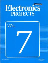 Electronics Projects Vol 7 Book PDF