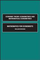 Mathematics for Economists PDF