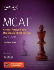 MCAT Critical Analysis and Reasoning Skills Review 2020 2021 PDF