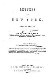 Letters from New York: Second Series