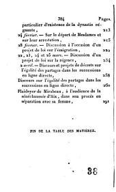 Chefs-d'oeuvre oratoires de Mirabeau: ou Choix des plus éloquens discours de cet orateur célèbre, suivi du plaidoyer que Mirabeau prononça à la sénéchaussée d'Aix, dans son procès avec sa femme, Volume2