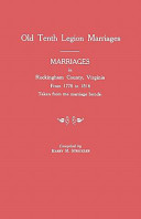 Old Tenth Legion Marriages