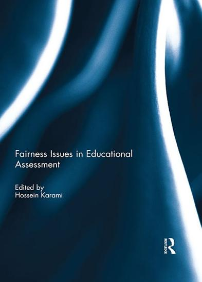 Fairness Issues in Educational Assessment PDF