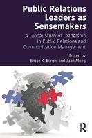 Public Relations Leaders as Sensemakers PDF