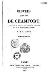 Oeuvres complètes de Chamfort