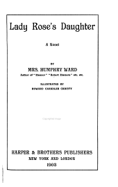 Lady Rose's Daughter: A Novel
