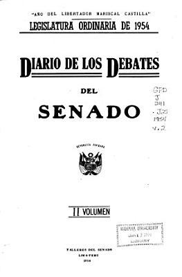 Diario de los debates del Senado PDF