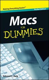 Macs For Dummies®, Pocket Edition
