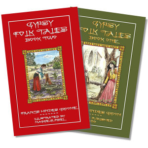 Authentic Gypsy Folk Tales illustrated 2 book set - Black Friday Special