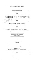 Reports of Cases Decided in the Court of Appeals of the State of New York PDF