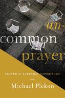 Uncommon Prayer PDF