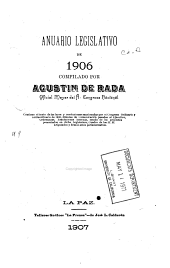 Anuario legislativo de ...