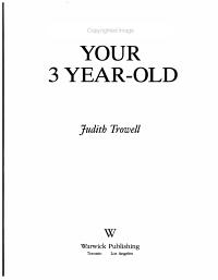 Your 3 Yerar Old PDF