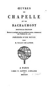 Oeuvres de Chapelle et de Bachaumont