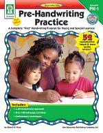 Pre-Handwriting Practice, Grades PK - 1