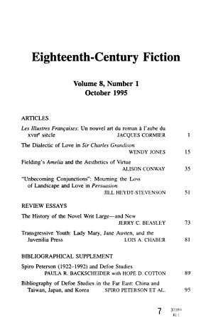 Eighteenth century Fiction PDF