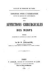 Des affections chirurgicales des nerfs