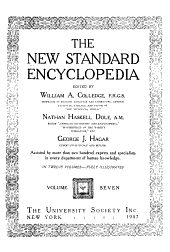 The New standard encyclopedia: Volume 7