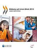 Bildung auf einen Blick 2013  OECD Indikatoren PDF