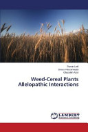 Weed Cereal Plants Allelopathic Interactions