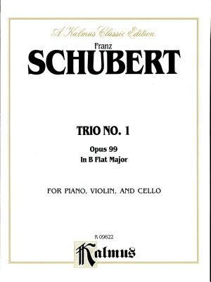 Trio No. 1 in B-Flat Major, Op. 99