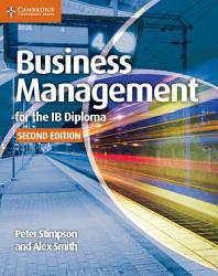 Business Management for the IB Diploma Coursebook PDF