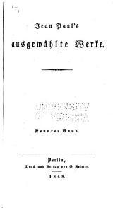 Jean Pauls ausgewählte Werke: Bände 9-10