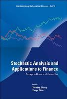 Stochastic Analysis and Applications to Finance PDF