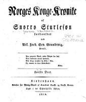 Norges konge-kronike: Bind 1