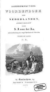 Aardrijkskundig Woordenboek der Nederlanden: P - R, Volume 9