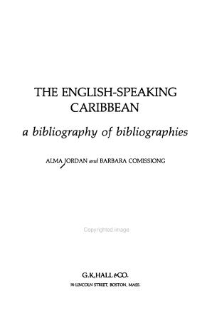 The English speaking Caribbean PDF