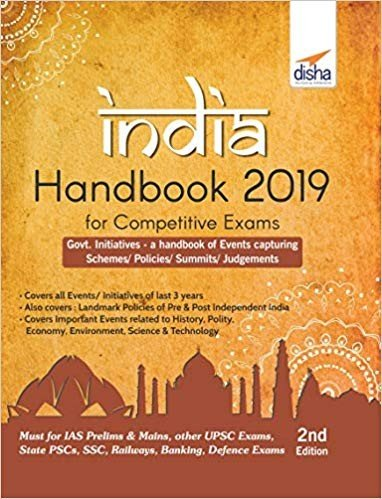 INDIA Handbook 2019 for Competitive Exams   2nd Edition PDF