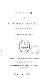 C. Cornelii Taciti opera omnia: Volume 4
