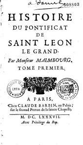 Histoire du pontificat de saint Léon-le-Grand