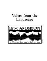 Voices from the Landscape PDF
