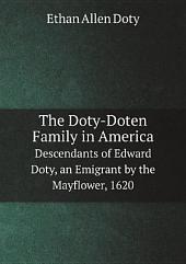 The Doty-Doten Family in America