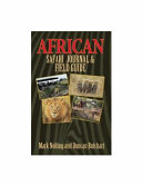 African Safari Journal   Field Guide PDF