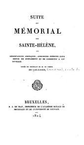 Mémorial de Sainte-Hélène: ou, Journal où se trouve consigné, jour par jour, ce qu'a dit et fait Napoléon durant dix-huit mois, Volume9