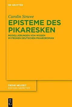 Episteme des Pikaresken PDF
