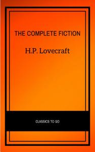 H P  Lovecraft  The Complete Fiction Book