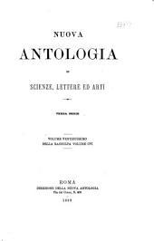 Nuova antologia: Volume 106