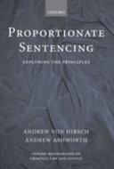 Proportionate Sentencing