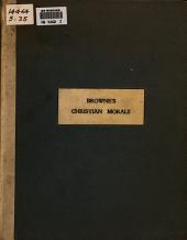 Christian Morals