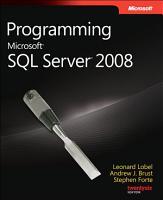 Programming Microsoft SQL Server 2008 PDF