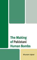 The Making of Pakistani Human Bombs PDF