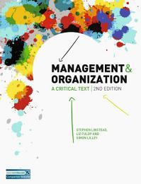 Management and Organization 2e EBOOK