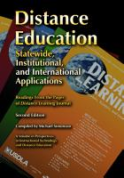 Distance Education PDF